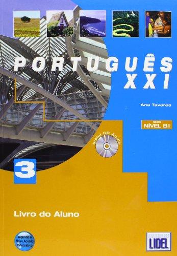 9789727578160: Portugues XXI: Pack livro do aluno + CD + caderno de exercicios 3