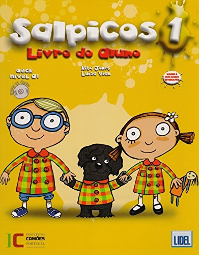 9789727578214: Salpicos - Portuguese course for children: Livro do aluno (A1) + CD (Novo Acordo