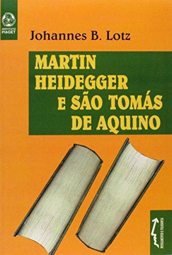 9789727714865: Martin Heidegger e Sao Tomas de Aquino
