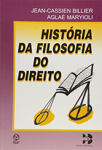 9789727718573: História da Filosofia Do Direito