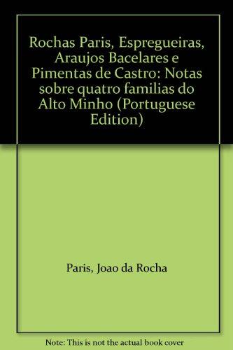 Rochas Páris, Espregueiras, Araújos Bacelares e Pimentas: PÁRIS, João da