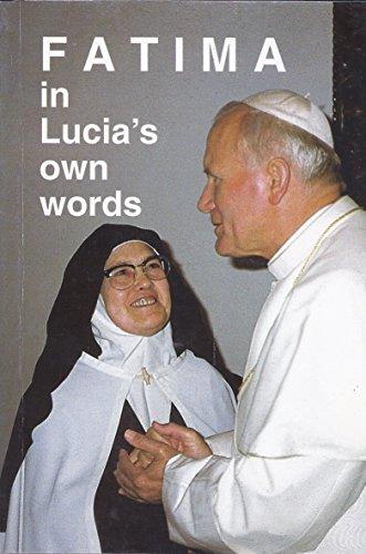 9789728524005: Fatima in Lucia's Own Words