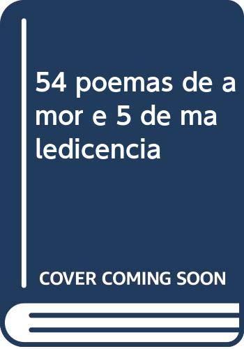 54 poemas de amor e 5 de: Telles De Menezes,