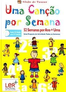 9789728637439: Uma canção por semana (livre+cd) - chansons pour enfants en portugais