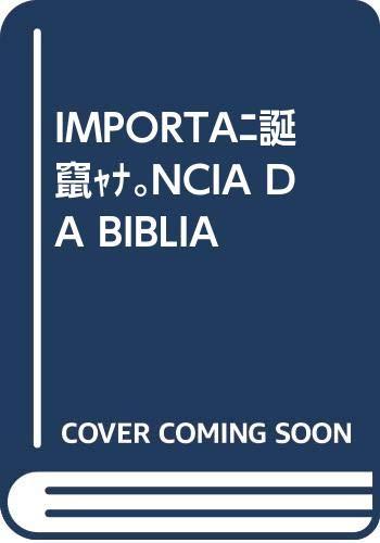 Import ncia da biblia: Vv.Aa.