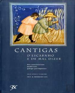 9789729230424: Cantigas d'escarnho e de mal dizer: Dos cancioneiros medievais galego-portugueses (Portuguese Edition)