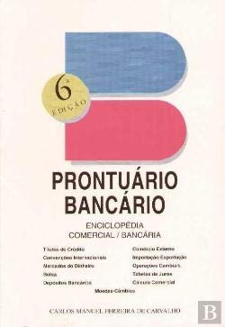 9789729542602: Prontuario do bancario: Elementos de consulta para uso comercial