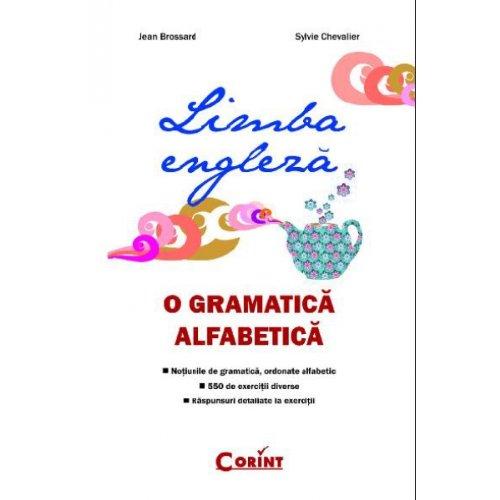 9789731355801: LIMBA ENGLEZA O GRAMATICA ALFABETICA