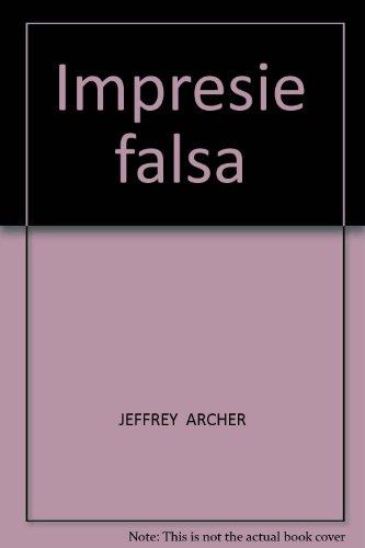9789731500751: Impresie Falsa