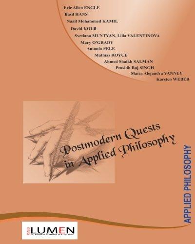 9789731663203: Postmodern Quests in Applied Philosophy