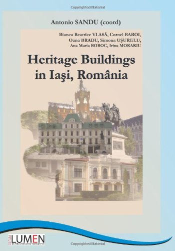 9789731663258: Heritage Buildings in Iasi, Romania