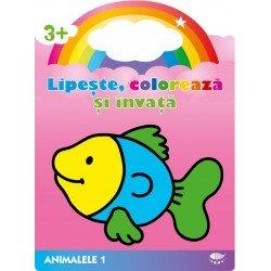 9789731972305: Peste. Animalele 1. Lipeste, coloreaza si invata