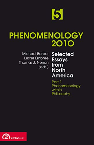 phenomenology essay Contains many key essays in existential phenomenology journals bulletin d'analyse phénoménologique journal of the british society for phenomenology.