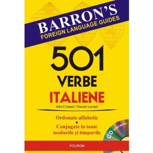 9789734611546: 501 verbe italiene (volumul contine CD) (Romanian Edition)