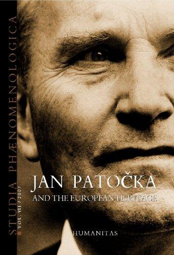 9789735016487: Studia phaenomenologica VII 2007 jan patocka european héritage (English, French and German Edition)