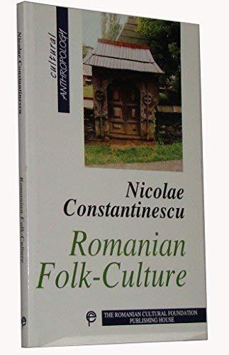 9789735772109: Romanian Folk-culture