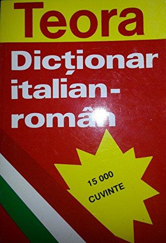 9789735910105: Dictionar Italian-Roman
