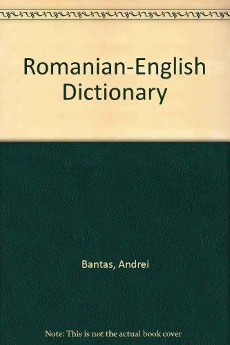 9789736010934: Romanian-English Dictionary