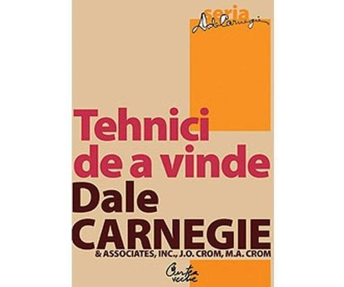 9789736695803: TEHNICI DE A VINDE EDITIA 2