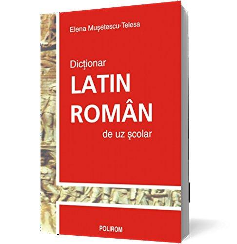 9789736815904: Dictionar latin-roman reeditare - Elena Museterscu-Telesa