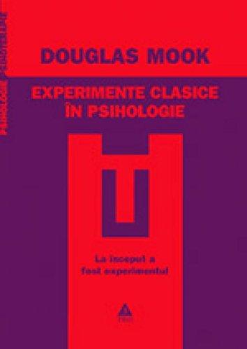 9789737072863: Experimente clasice in psihologie