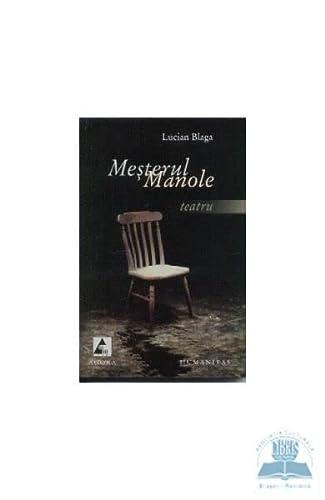 9789738852761: Mesterul Manole