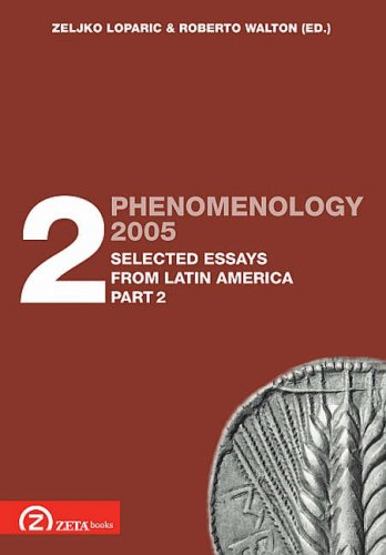 9789738863316: Phenomenology 2005, Vol. 2, Selected Essays from Latin America, Part 2 (Postscriptum OPO) (Pt. 2) (English and Spanish Edition)