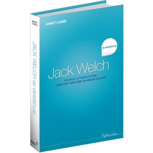 Jack Welch se destainuie Janet Lowe: Janet Lowe
