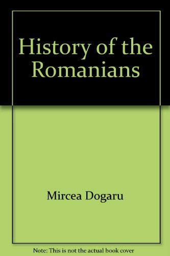 9789739675598: History of the Romanians