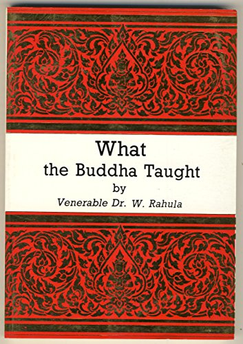 9789740008392: What the Buddha Taught