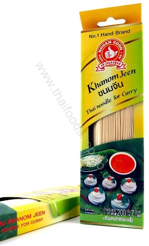 Khanom Jeen Dry Instant Thai Rice Noodles Product of Thailand: n/a