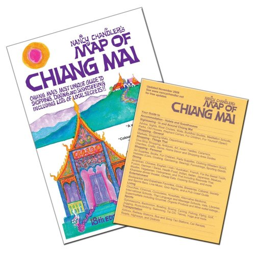 Nancy Chandler's Map of Chiang Mai, 18th: Nancy Chandler and