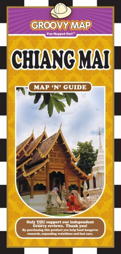 9789745250710: Groovy Map 'n' Guide Chiang Mai
