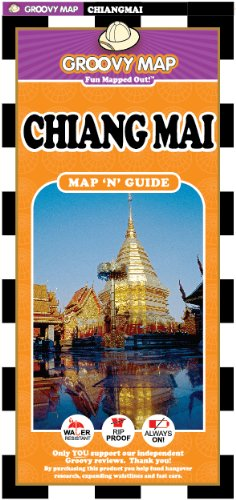 9789745251335: Groovy Map 'n' Guide Chiang Mai(2012)