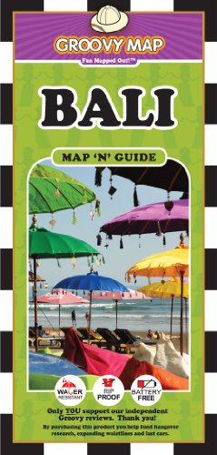 9789745251618: Groovy Map n Guide Bali (2013)