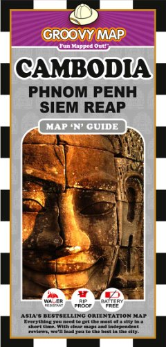 9789745251731: Groovy Map n Guide Cambodia