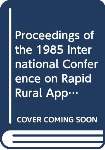 Proceedings of the 1985 International Conference on: Khon Kaen University