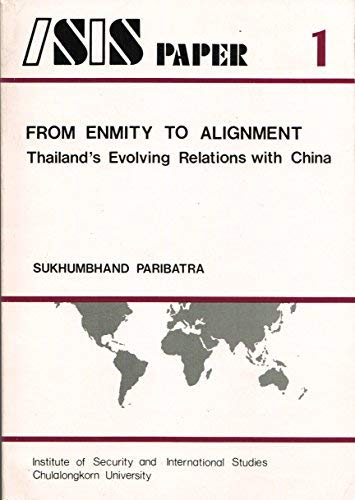 From Enmity to Alignment: Thailand's Evolving Relations: Sukhumbhand Paribatra