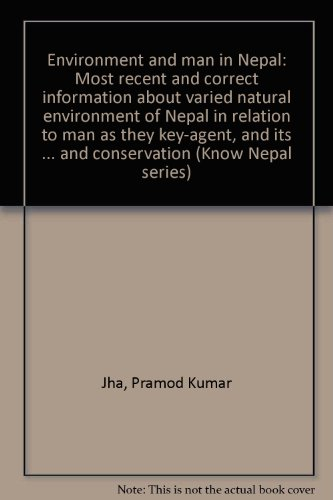 Know Nepal Series No. 5: Environment &: Jha, Pramrod Kumar