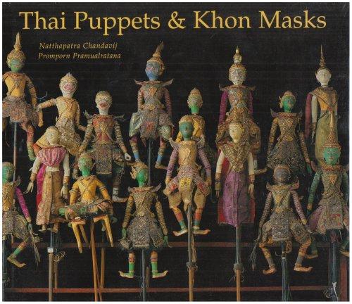 Thai Puppets and Khon Masks