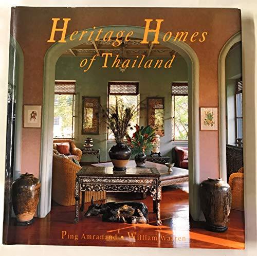 Heritage Homes of Thailand (9789748298344) by William Warren