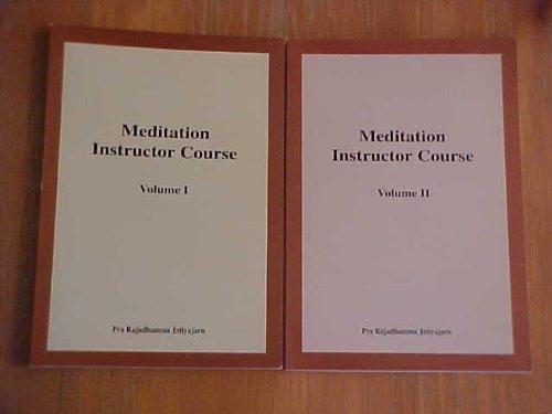 9789748701721: Meditation Instructor Course: Volume II (Meditation Instructor Course: Volume 2)