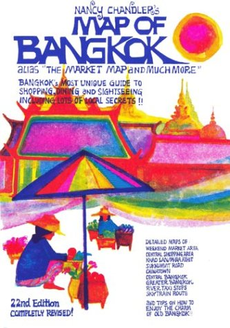9789749119242: Nancy Chandler's Map of Bangkok