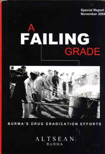 A Failing Grade: Burma's Drug Eradication Efforts
