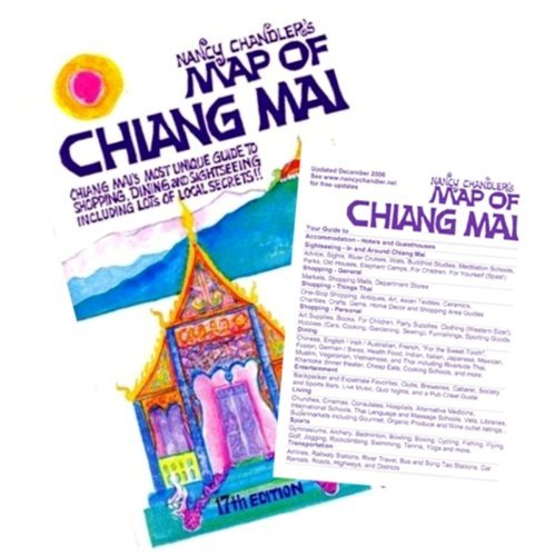 9789749494301: Nancy Chandler's Map of Chiang Mai