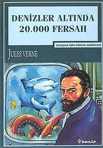 Denizler Altinda 20.000 Fersah (Turkish Edition): Jules Verne
