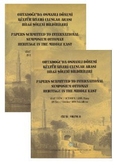Papers submitted to international symposium Ottoman heritage: Prep by SEBNEM
