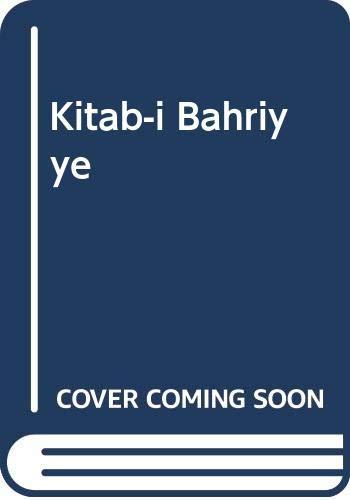 9789751736826: Kitab-i Bahriyye