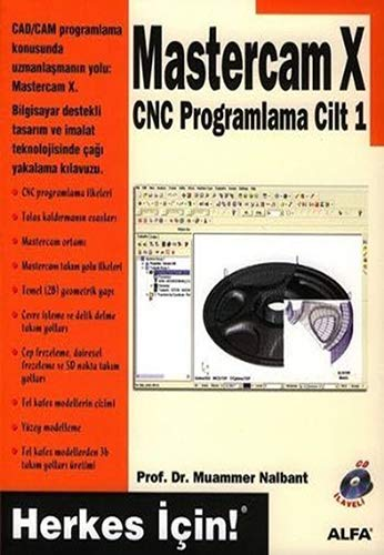 9789752977334: Master CAM X CNC Programlama Cilt 1-Cd Ilaveli