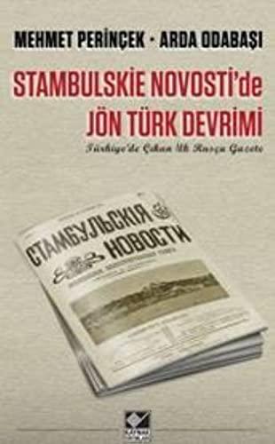 9789753438032: Stanbulskie Novostide Jön Türk Devrimi